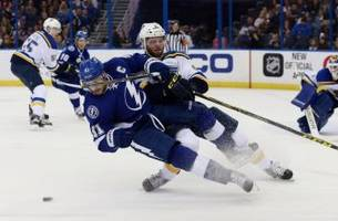 St. Louis Blues Opposition:  Tampa Bay Lightning