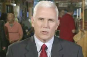 Pence: Gennifer Flowers Won't Be at Debate, Trump Was Just 'Mocking' Clinton Camp
