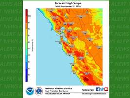 heat advisory issued for east bay for sunday, monday