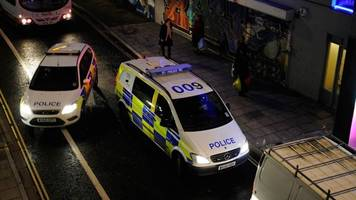 cars smashed in suspected hate crime attacks in bristol