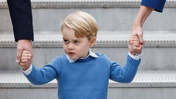 Prince George Is Up To His Adorable Antics Again, This Time In Canada