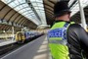 police confirm person died after being struck by train in...
