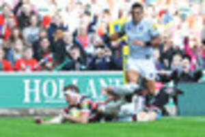 leicester tigers 34-14 bath: tigers hit form against old rivals...
