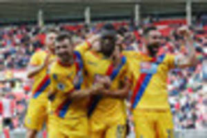 how they rated: mcarthur and benteke steal the show for crystal...