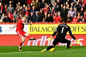 aberdeen player ratings: gary ralston rates the dons as james maddison nets sensational late winner to down gers
