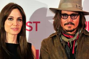 angelina jolie seeks comfort from johnny depp as she prepares for divorce battle with brad pitt