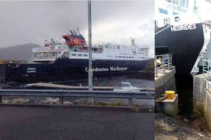 Caledonian MacBrayne crash: Ferry carrying nearly 80 passengers smashes into harbour wall
