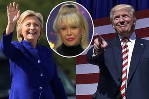 Donald Trump to bring one of love-cheat Bill Clinton's mistresses to presidential debate to embarrass Hillary
