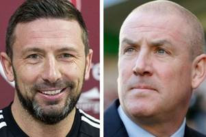 rangers boss mark warburton reveals he enjoyed a cup of tea with derek mcinnes but knows that all goes to pot in clash