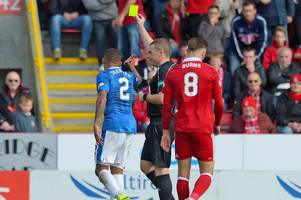 rangers fans hit out at john beaton over controversial free-kick decision - sports hotline