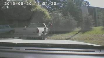 Charlotte police release dashcam and bodycam footage