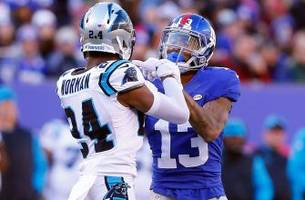 Giants fans troll Josh Norman with 'crybaby' shirts