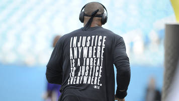 In wake of Charlotte protests, Cam Newton wears shirt with Martin Luther King quote