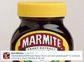 How many are YOU guilty of? Twitter users claim Marmite, lying to your hairdresser and apologising too much are 'awfully British offences' as hilarious hashtag sweeps social media