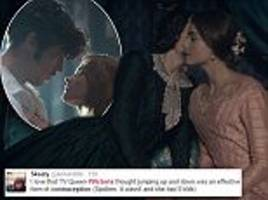 Victoria viewers howl on Twitter at misguided 19th century contraception advice