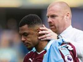 andre gray gets backing from burnley manager sean dyche over the vile homophobic tweets from 2012 that saw the striker banned for four games