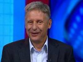 Gary Johnson says humans must inhabit other planets