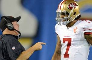 Chip Kelly says Colin Kaepernick is the backup because he's not '100 percent'
