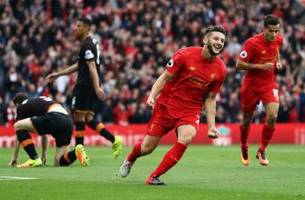 jurgen klopp discusses adam lallana's form