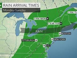 new rochelle may see some rain this week