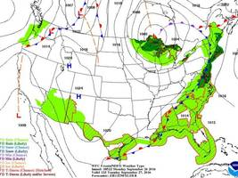 Enjoy the sunshine, as we will enter a period of unsettled weather by midweek. Showers, drizzle, and fog are expected.