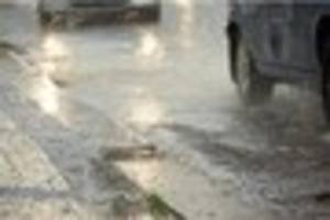 Derbyshire weather: 10 hours of rain expected