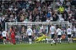 derby county 1-2 blackburn rovers - key moments