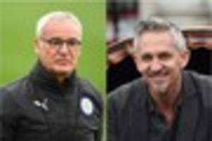 why does claudio ranieri have pictures of premier league managers...