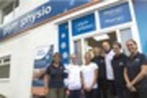 tonia couch and sarah barrow launch new physio clinic in plymouth
