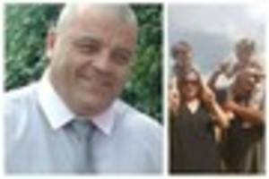 family and friends remember popular foster carer nigel bennett at...
