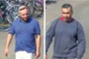 Cambridge News published Police release CCTV of two men in connection with Cambridge bike...