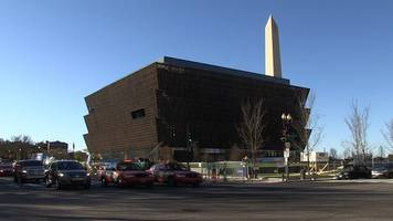 African American History museum build - in 90 seconds