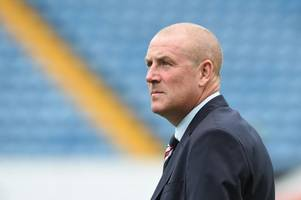 is mark warburton near the end of his rangers journey?