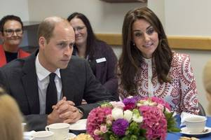 prince william talks of his mum diana's work with vulnerable women in scotland as he visits charity