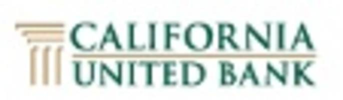 "California United Bank Receives ""Outstanding"" CRA Rating"