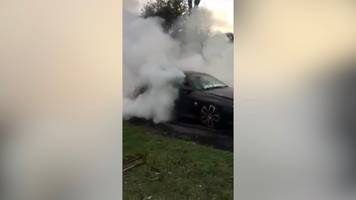 Australian dad's car towed over son's burnout videos