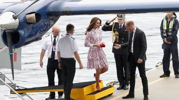 duke and duchess make flying visit to vancouver