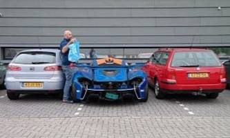Getting Groceries In Your Road-Legal McLaren P1 GTR, Latest Urban Dweller Stunt