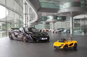 McLaren's all-electric P1 is a hypercar built for the little ones — literally