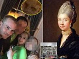 it's a fright wedding! 'freaked out' sisters think they've spotted the ghostly face of a historic queen in a selfie taken at their sibling's reception