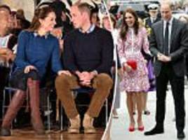 kate middleton and prince william's displays of affection analysed by body language expert