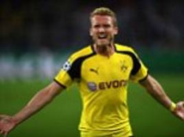 Borussia Dortmund 2-2 Real Madrid: Andre Schurrle's stunning late strike salvages a draw for Thomas Tuchel's side