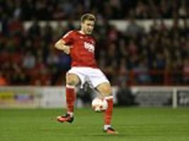 championship round-up: nicklas bendtner gets off the mark for nottingham forest as garry monk suffers more torment with leeds