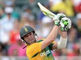 south africa captain ab de villiers out of australia series and now facing surgery on injured elbow