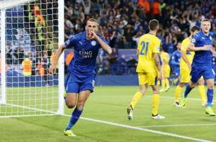 leicester city remains perfect; real madrid, dortmund draw in champions league