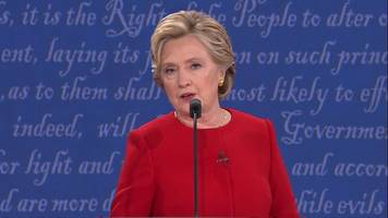 Clinton: 'He is hiding something in tax returns'