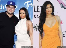 Rob Kardashian Tweets Kylie's Number as He Blasts His Family for Snubbing Blac Chyna
