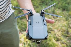 DJI's new Mavic Pro drone folds up and fits in the palm of your hand
