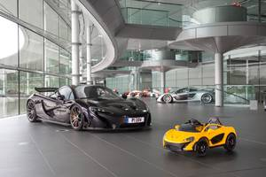 McLaren's first electric car is for under-sixes only