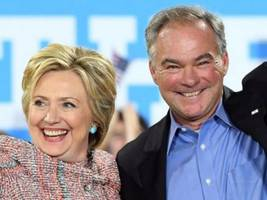 Tim Kaine to Campaign for Clinton Wednesday in Northern Virginia